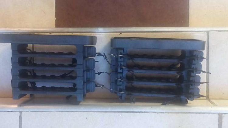 Clip amurador modular organizador cables fibra optica 4
