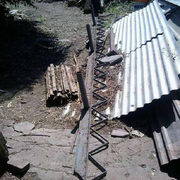 Estructura metalica escalera