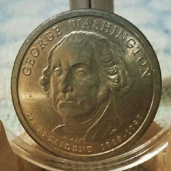Estados unidos 1 dollar 2007 - serie: presidentes -