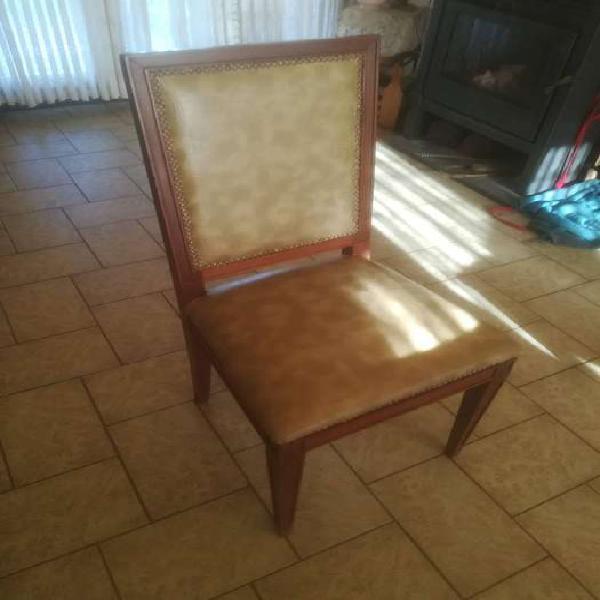 Juego de comedor mesa de cedro + sillas