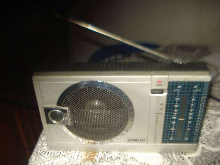 Radio roadstar am/fm portatil analogica buen sonido no