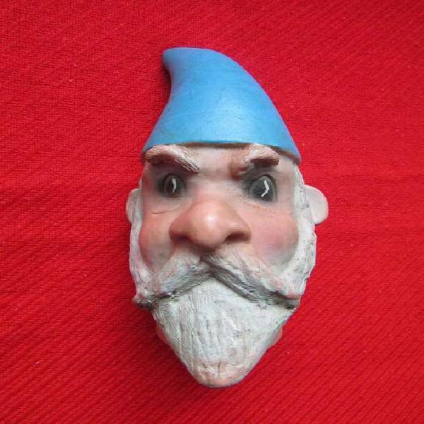 Antigua cabeza de goma w. disney
