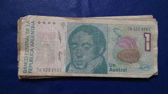 Billetes argentinos y brasileros antiguos