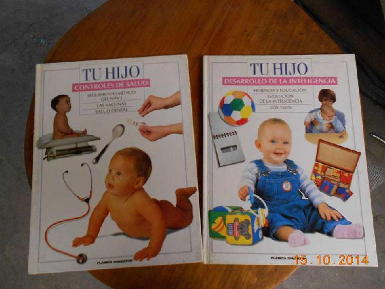 Caseros) tu hijo -libros salud - 2 tomos editorial planeta