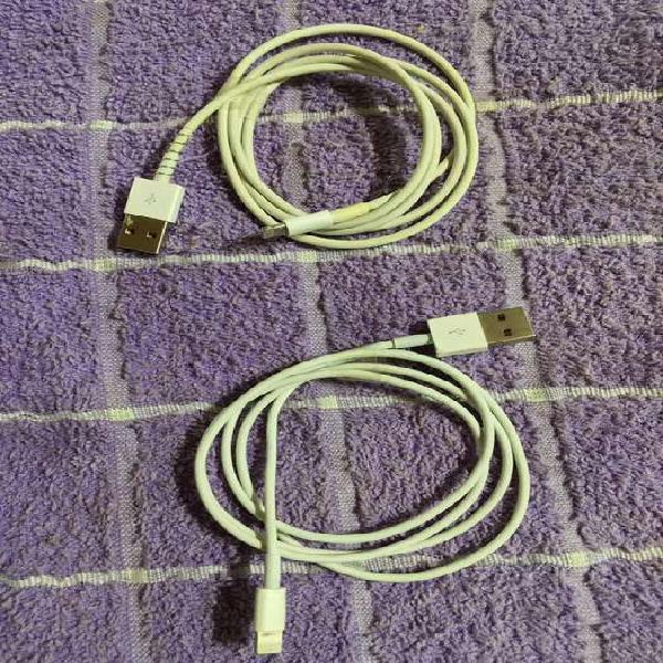 Cables usb usados.