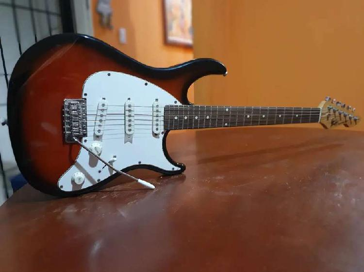 Guitarra electrica + amplificador + funda y correa