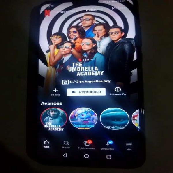 Huawei y9 2019 con 4 cámaras