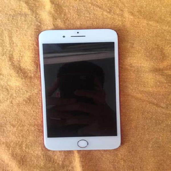 Iphone 7 plus red (edicion limitada) 256gb vendo o permuto