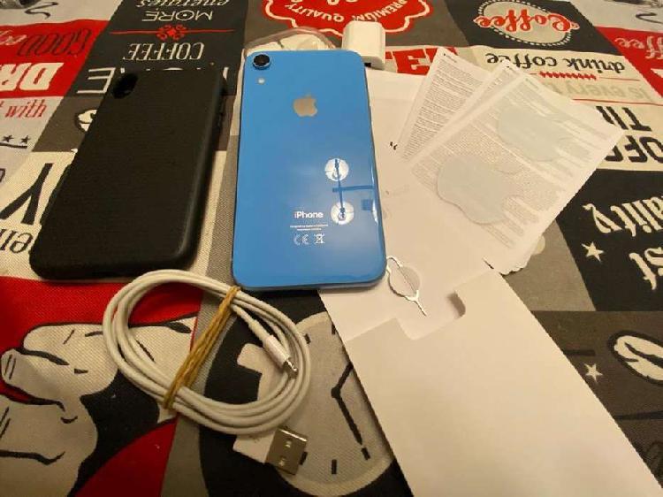 Iphone xr 64 gb igual a nuevo blue 99.000 pesos 780 dolares