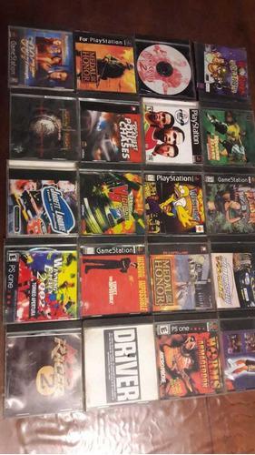 Juegos playstation 1 usados precio x unidad