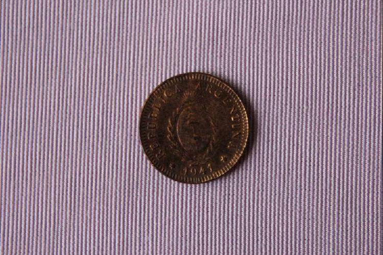 Moneda argentina, 1941, dos centavos con escudo nacional