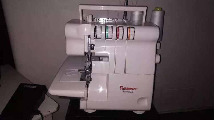 Maquina de coser overlock florencia