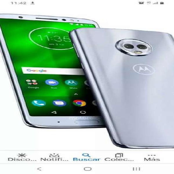 Motorola g6 plus 64gb escucho oferta