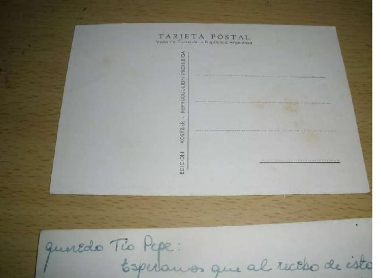 Gp1160 tarjeta postal antigua