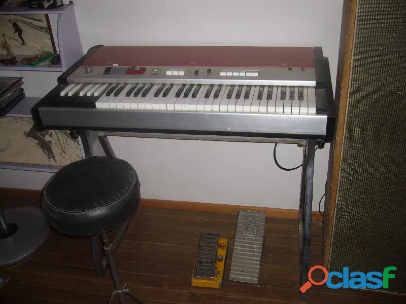 Organo teclado cei parade 1967 no vox farfisa eko procedencia;bologna italia