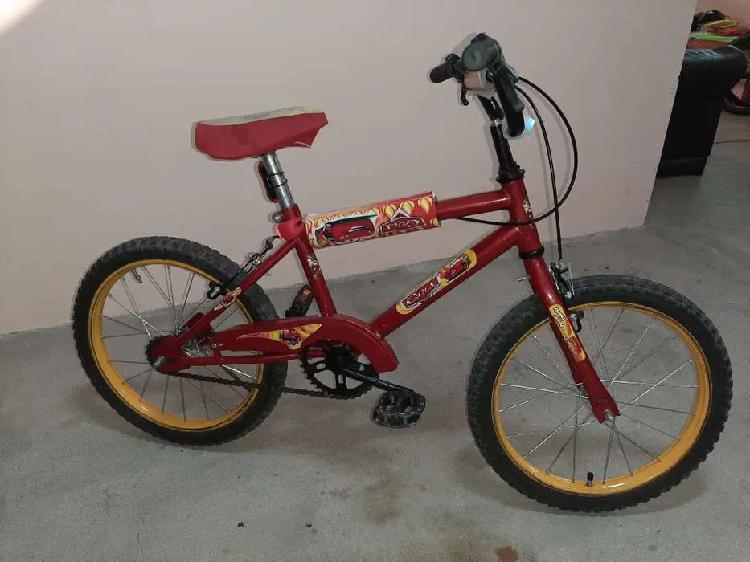 Bicicleta de niño usada rodado 16