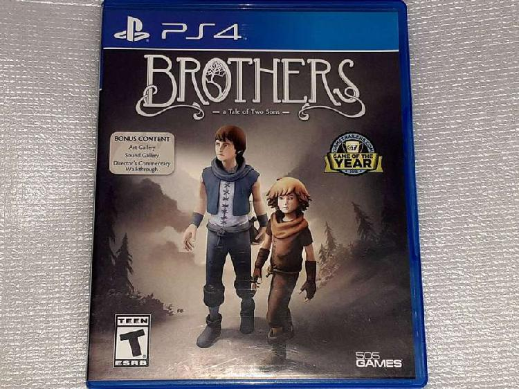 Brothers: a tale of two sons - español - físico - ps4