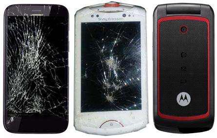 """Canje lote 5 celulares para repuestos por reparacion """"x"""