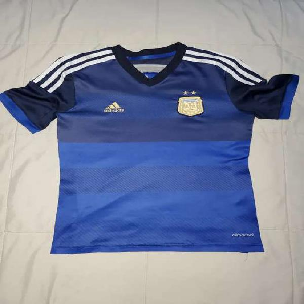 Camiseta selección argentina adidas original talle m niños