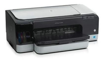 Impresora hp k8609 color marron tinta imprime a3 office