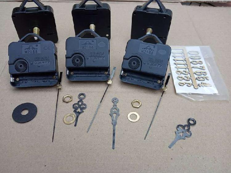 Liquido lote maquinas para relojes de pared
