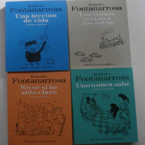 Libros nuevos, 4 cuentos de roberto fontanarrosa x $ 800
