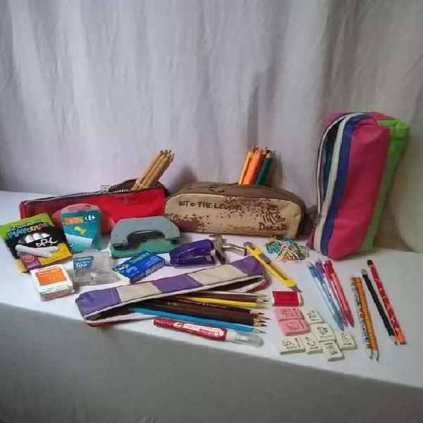 Lote de útiles escolares súper oferta familia numerosa!!