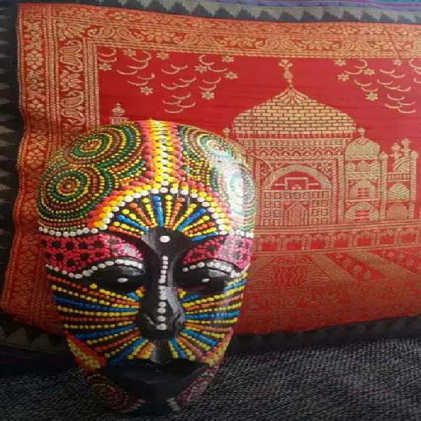 Máscara - antiguedades de indonesia madera maka.