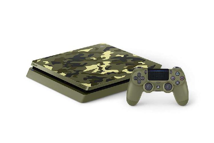 Playstation 4 call of duty wwii - slim 1tb consola edición