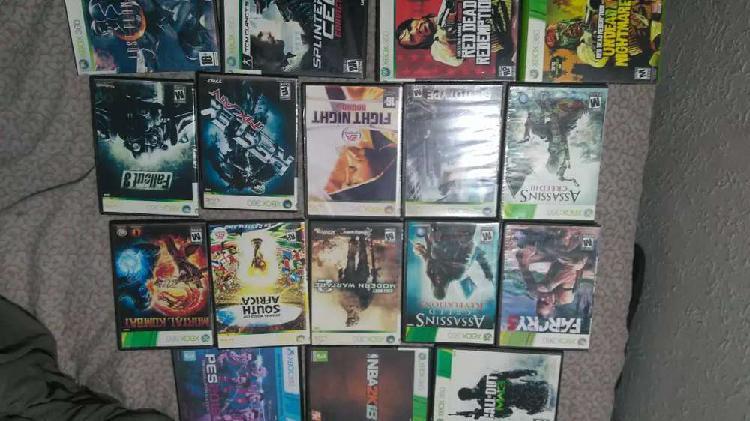 Se venden juegos xbox 360 para l.t 2.0 y 3.0