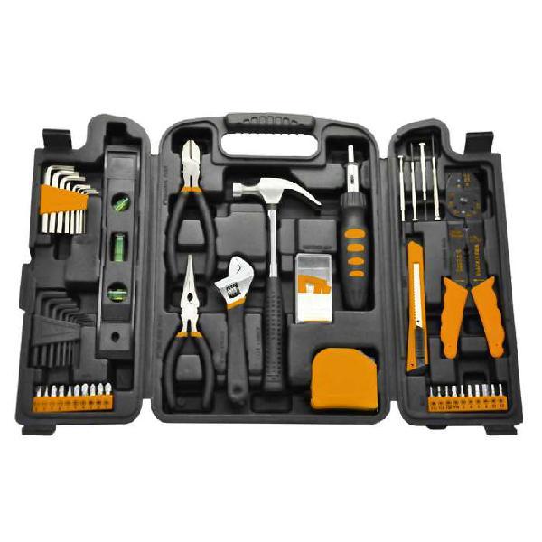 Set de herramientas lusqtoff 129 piezas rally kit maletin