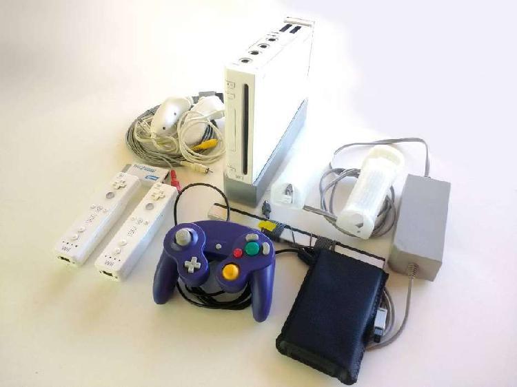 Wii hdmi retro 5 mandos 200 juegos wii gamecube y mas 1200