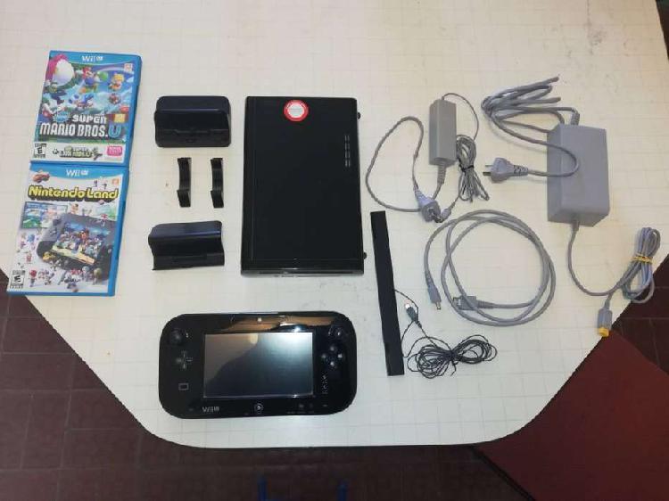 Wii u deluxe edition + 4 juegos.