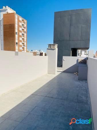 Monoambiente al frente - terraza exclusiva y balcón - entrega inmediata - vera mujica 1254