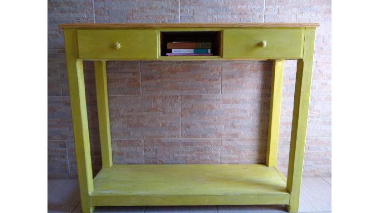Mueble recibidor/ pino