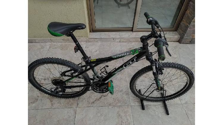 Vendo bicicleta gt original rodado 24