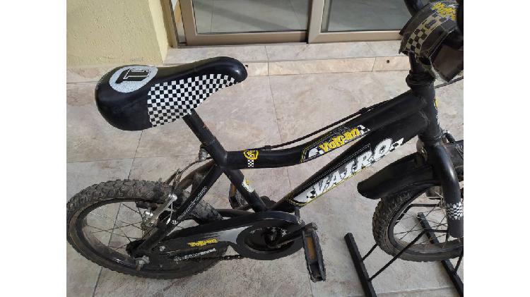 Vendo bicicleta vairo rodado 14
