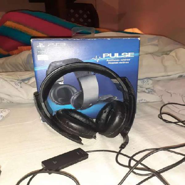 Auriculares ps3/ps4 sony pulse