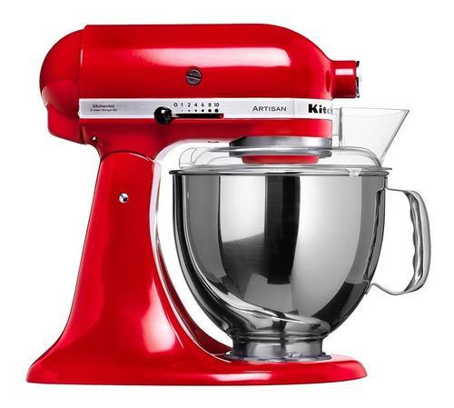 Batidora kitchenaid artisan 220v ksm150p 300w 10 velocidades