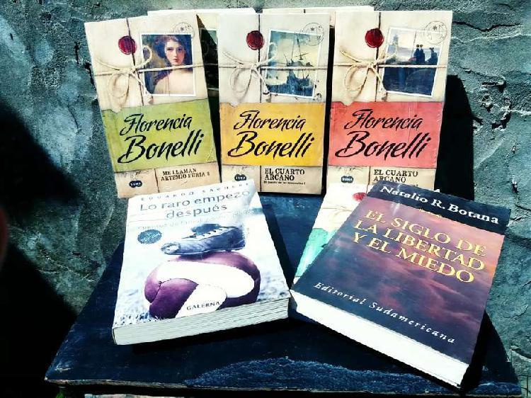 Libros y novelas