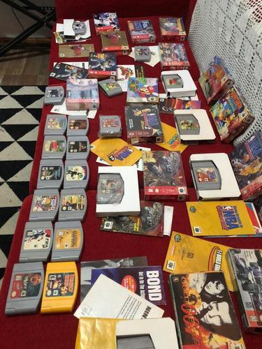 Lote de 27 juegos nintendo 64 originales caja y manual ntdf