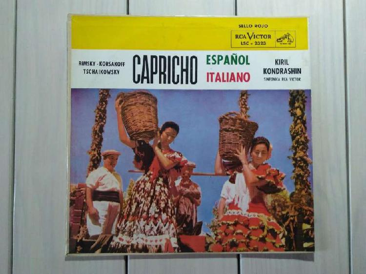 Lp vinilo capricho español italiano (ver descuentos)