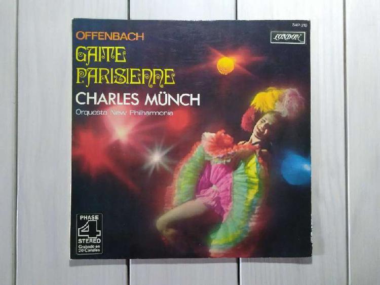 Lp vinilo offenbach gaite parisienne charles münch (ver