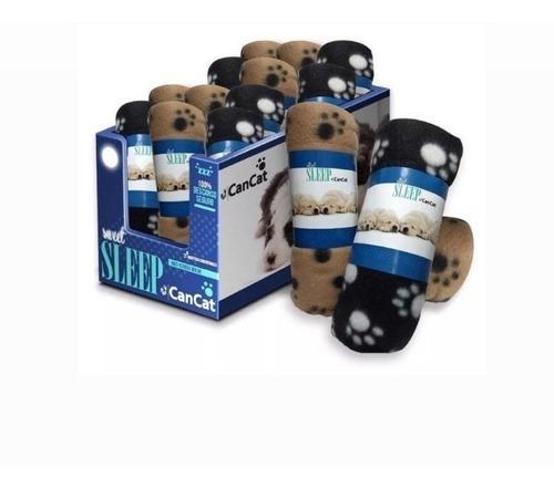 Manta polar perros gatos cachorros cancat suave calida