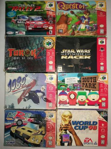 Nintendo 64 juegos originales completos