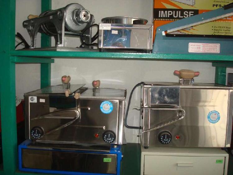 Panchera con calienta pan acero comercial con automático,
