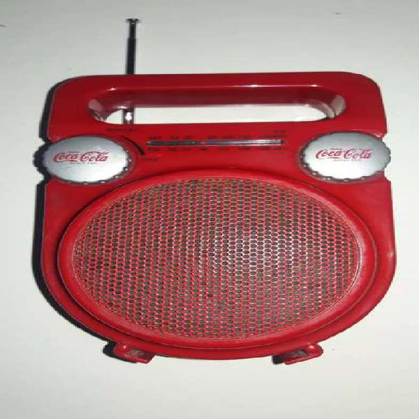 Radio coca cola portatil am/fm coleccion