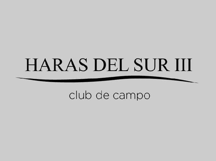 Terreno - haras del sur iii