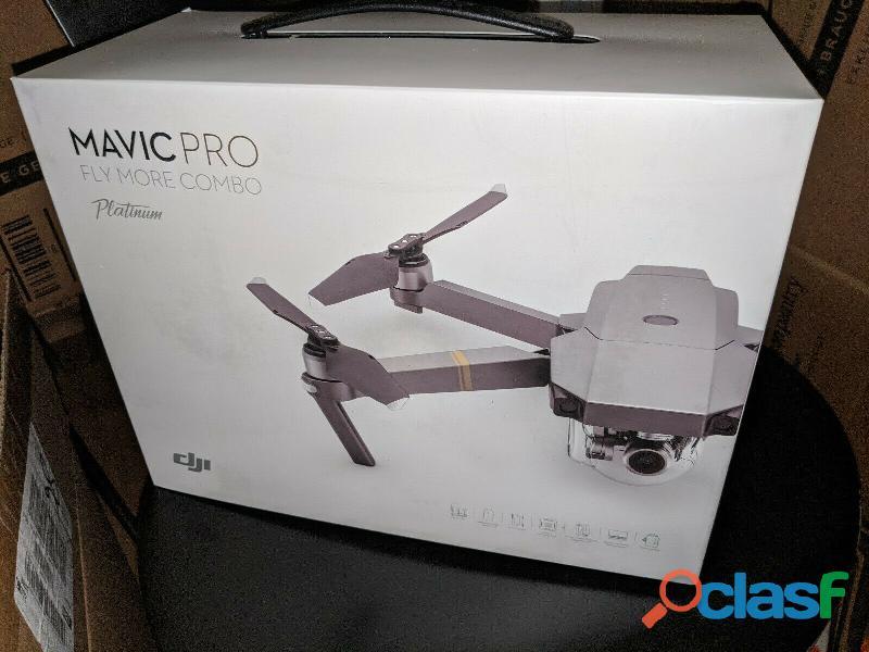 Para estrenar:dji mavic pro platinum drone phantom camera