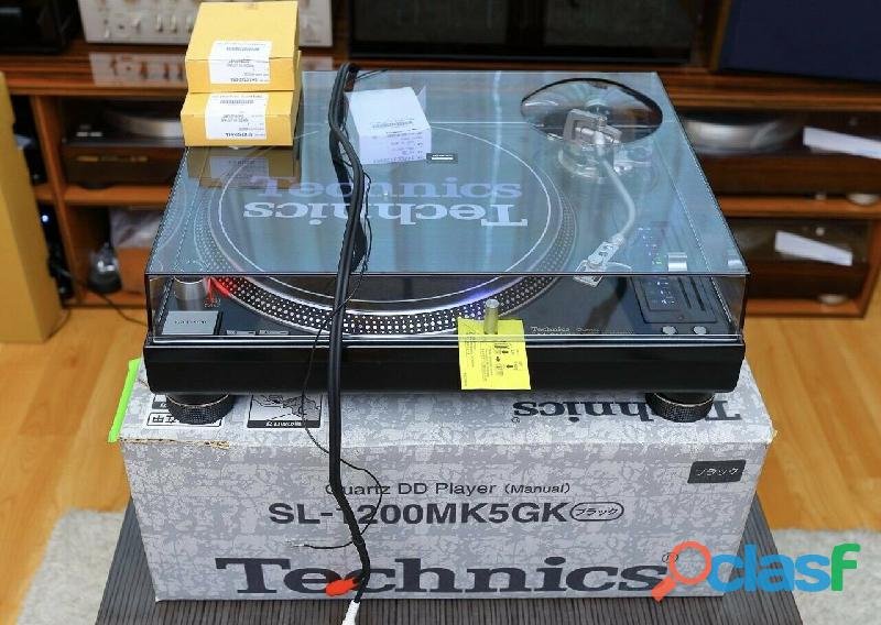 Para estrenar:technics sl 1200 mk5g m5g mvg turntable record player dj